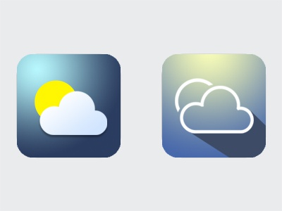 Weather App Icon #dailyui