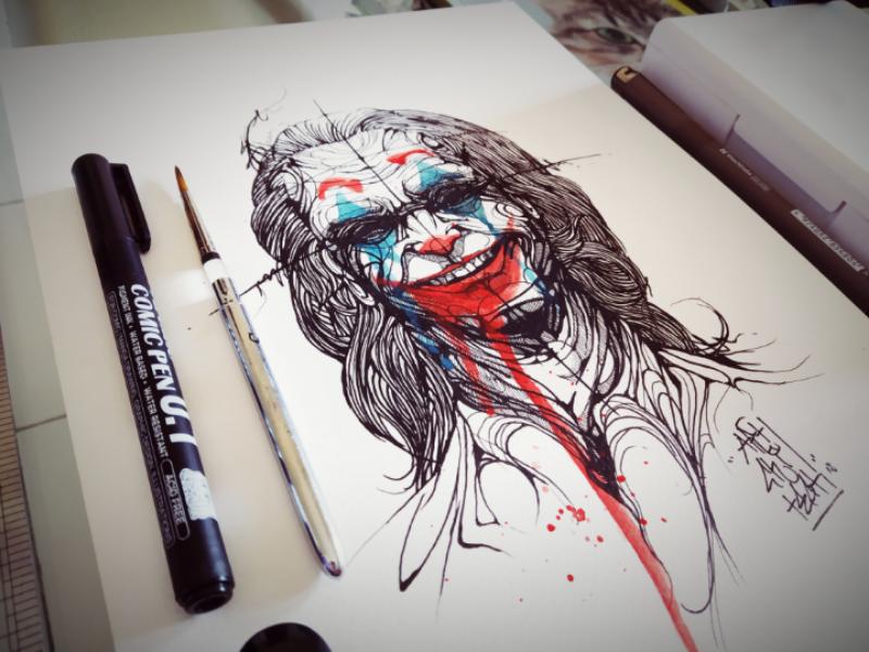 Brand New Joker illustration artwork art