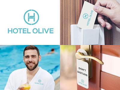 Hotel Stationery - Hotel Olive stationery design hotel branding hotel webdesign design logo branding ui illustration photoshop webdesignagency uidesign website design