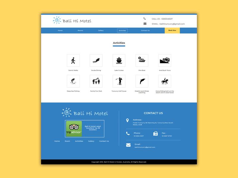 Activities Page icons facility activities icon ui banner design design webdesigner photoshop webdesignagency uidesign website design
