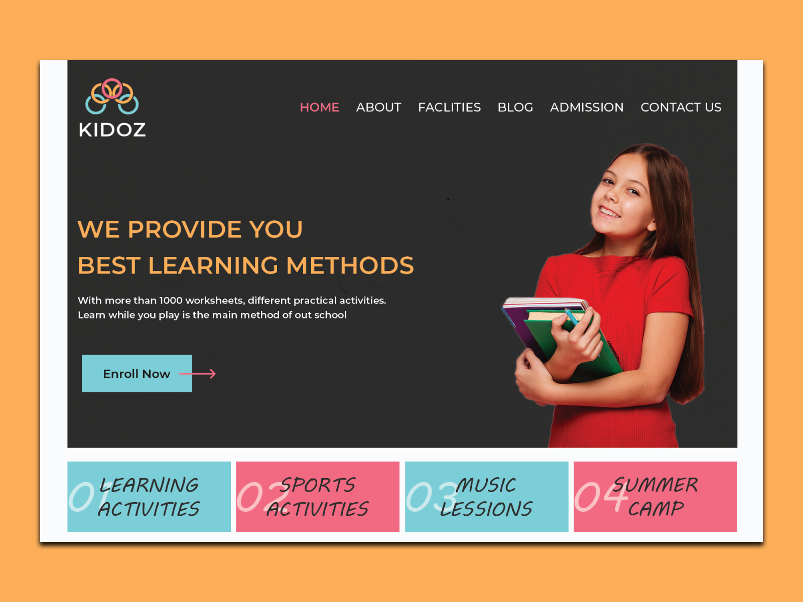 Education Banner Ui By Ipro Design On Dribbble