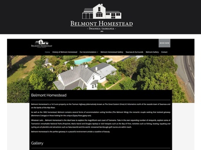 Accommodation Website Design & Development