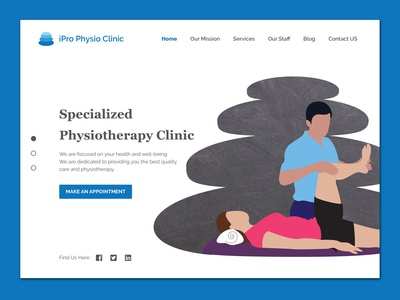 Physiotherapy Clinic Home Banner Design