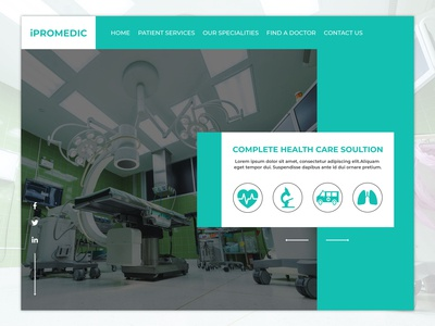 Hospital Website Banner