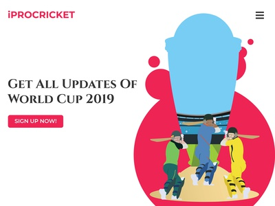 Cricket WorldCup Banner
