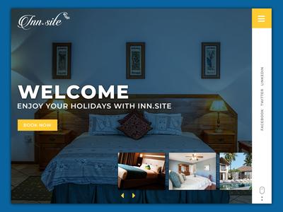 Hotel Website Banner