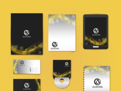 Branding Stationery Design for hotel