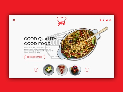 Restaurant Web Design - Yaki