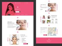 Skin Clinic Website
