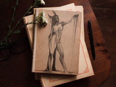 Picture  in free time illustrations woman god handmade