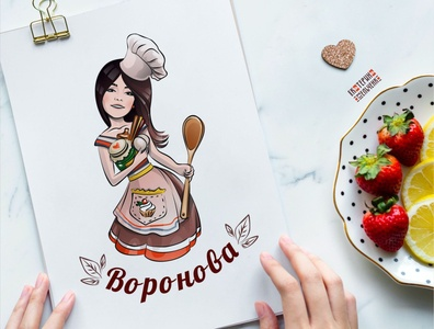 Character for the pastry chef