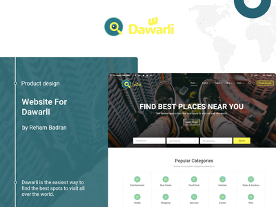 Dawarli - Find best places near you shopping resturants cafes search places nearby