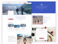 Ghumante - A premium landing page template