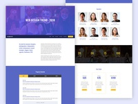 Evento - A premium landing page template