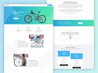 Smarty - A premium landing page template