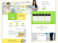 Maid - A premium landing page template