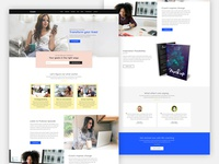 iCoach - A premium landing page template
