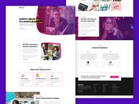 Agency - A premium landing page template