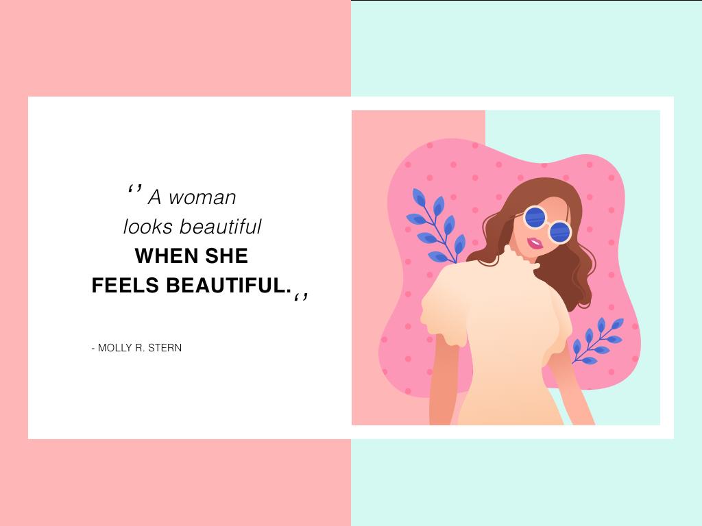 Beauty animation business digital web typography vector adobe ux pink love draw branding girl color ui dribbble cute illustration design digital draw
