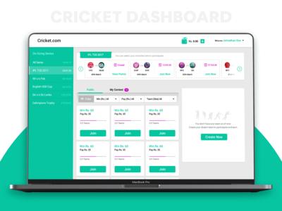 Cricket Dashboard