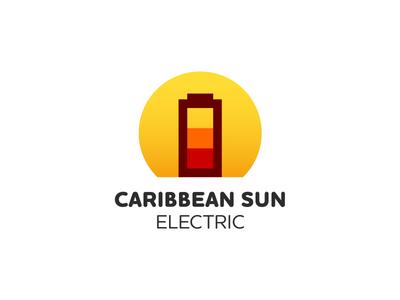 Caribbean Sun Electric solar panels smart logotype logo design logodesign logomark identity design identitydesign corporate branding corporatebranding corporate identity corporateidentity brand identity brandidentity brand design branddesign brand logotype logo identity branding