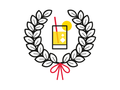 I'm a graduate! party drink laurelwreath yellow mscdegree graduation helloworld