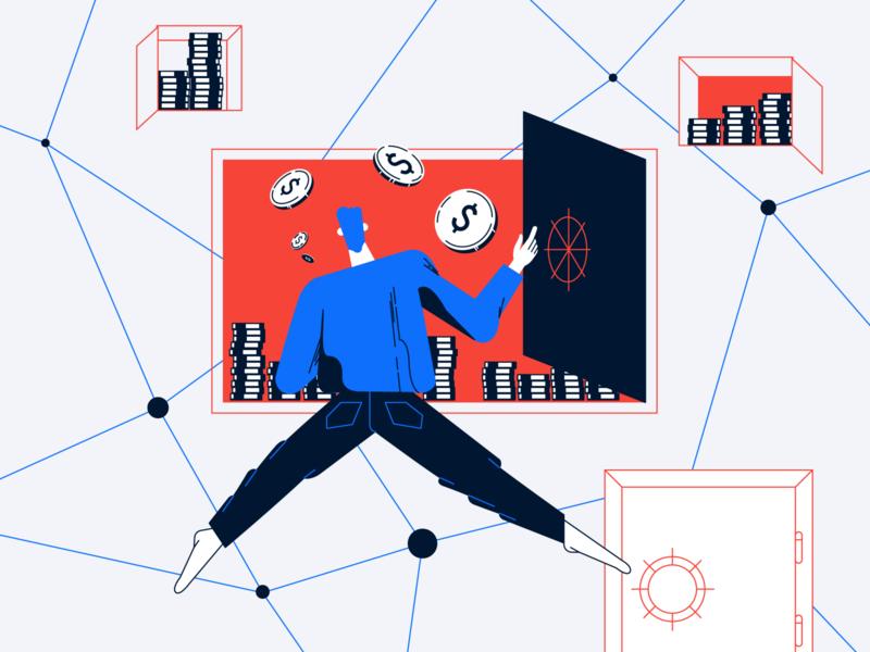 Save money illustration vector