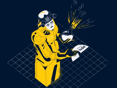 Secret ingredient illustration vector