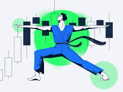 Concentration vector illustration