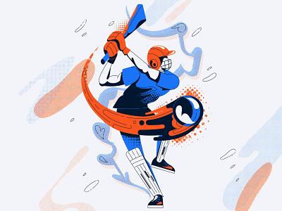 Cricket vector illustration