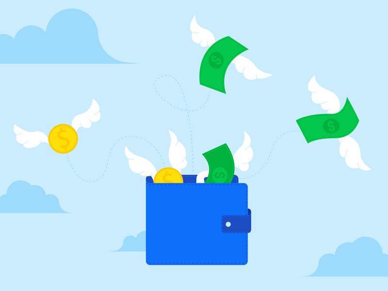 Free money vector illustration