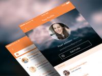 Moment Profiles & Inbox Screens