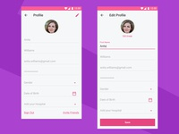 Daily UI #006 - Healthcare User Profile