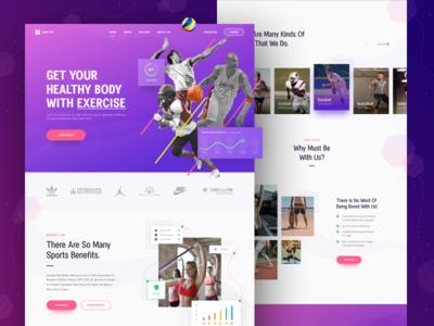 HEALTHY - Website Exploration