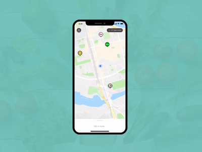 skuff ux ui flinto ios prototype delivery app grocery app delivery grocery