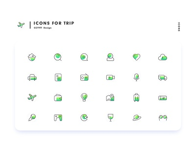 trip icons trip thailand icon