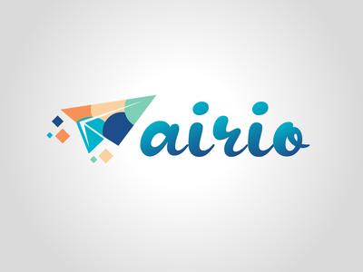 Airio vector design typography daily logo challenge dailylogochallenge logo logo concept logo design graphic design