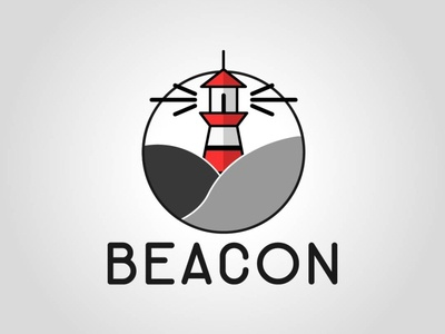 Beacon vector design graphic design daily logo challenge dailylogochallenge logo logo concept logo design