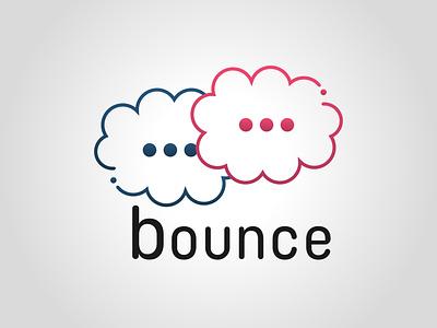 Bounce logo daily logo challenge dailylogochallenge design logo concept logo design graphic design