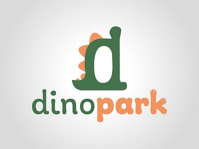 Dino Park graphism dailylogochallenge daily logo challenge illustration logo typography logo concept logo design graphic design