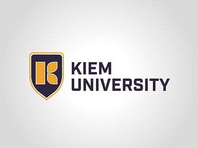 Kiem University vector daily logo challenge dailylogochallenge design graphism logo logo concept logo design graphic design