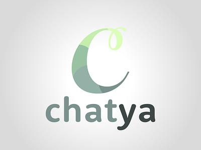 Chatya illustration vector illustrator daily logo challenge dailylogochallenge typography logo logo concept logo design graphic design