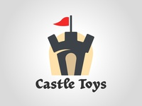 Castle toys illustration illustrator graphism daily logo challenge dailylogochallenge logo logo concept logo design graphic design