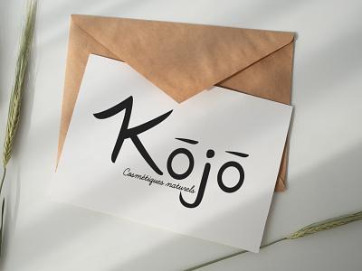 Kōjō cosmetic logo cosmetics branding design typography logo illustrator logo concept logo design graphic design