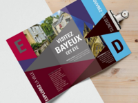 Brochure example - Bayeux