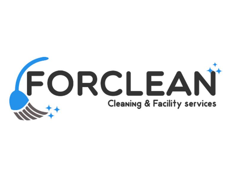 Forclean - Logo concept v.2 cleaning clean cleaning logo illustrator new version rework logo design logo concept graphic design