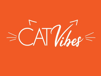 Cat Vibes - Logo concept