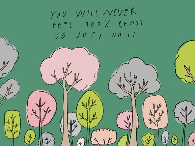Do it! do it inspiration quotes motivational quotes quote motivation nature doodle hand drawn illustration
