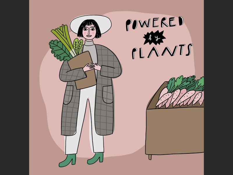 Powered by plants.