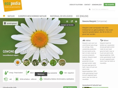 Redesign for Ecopedia
